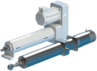 Victory-A Series Food-Grade Ram-Style Actuator