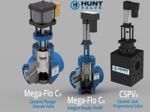 Ceramic Descale Valves from Hunt Valve